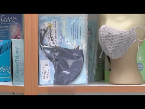 Masks Aid Breathing In Smoky Air