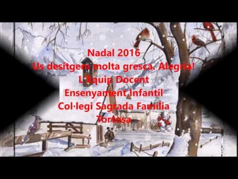 Blanc Nadal Eb 2016 Gresca Alegria E Infantil Sagrada Familia Tortosa