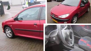 Peugeot 206 1.4 XS /Netjes /Trekhaak /Stuurbekr. /Nwe Apk!