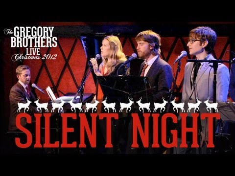 Silent Night - The Gregory Brothers LIVE!