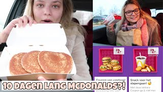 Mcdonald's Adventskalender 2019 Unboxing & Car Mukbang ღ | Joyce Rikken