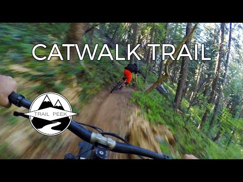 Straight No Brakes - Catwalk Trail - Mountain Biking Ashland, Oregon