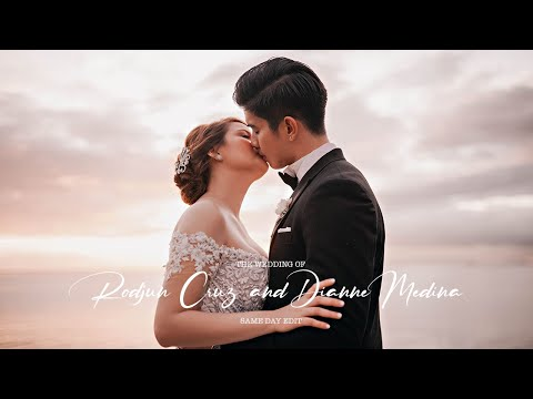 Rodjun Cruz and Dianne Medina | On Site Wedding Film by Nice Print Photography