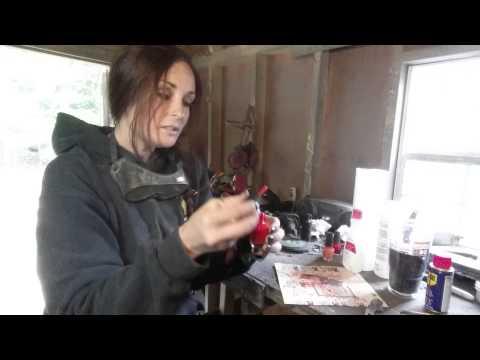 Acid etching tutorial video