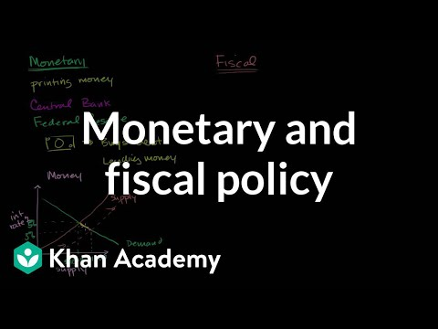 Monetary and fiscal policy | Aggregate demand and aggregate supply | Macroeconomics | Khan Academy