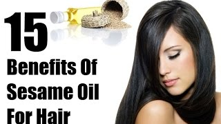 sesame oil for hair fall treatment - sesame seeds oil