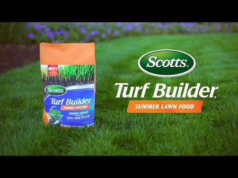 How To Use Scotts Turf Builder Summer Lawn Food Youtube
