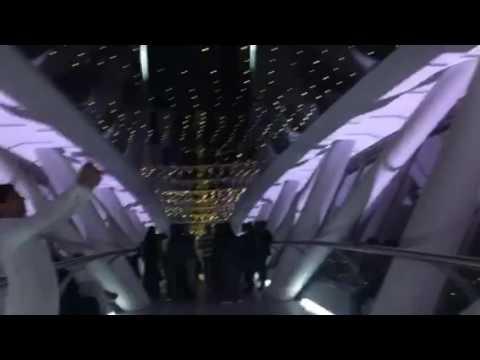 جسر المشاهدة في برج المملكة 5