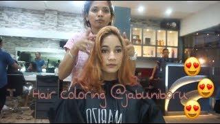14 Hair Coloring Di Salon Ter Hitz Di Bekasi Jabuniboru Rania Yasmin Youtube