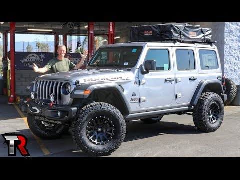 Overland Built Jeep Wrangler Straight from the Dealership - TrailRecon Edition