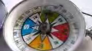 磁石の回転@松江のゼロ磁場