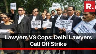 lawyers-cops-delhi-lawyers-call-strike-courts-open-november-16