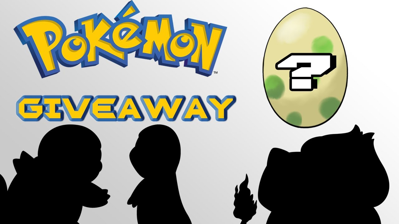 giveaways for pokemon