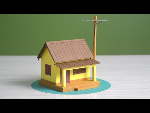Best paper house making idea | easy DIY at home