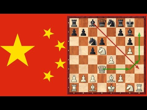 The Chinese Immortal! A Chess Game Which You Should See