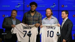 Dodger Announce Signing of Kenley Jansen and Justin Turner
