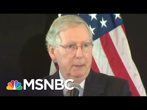 Donald Trump Attacked Mitch McConnell On Russia Investigation: NYT | Rachel Maddow | MSNBC