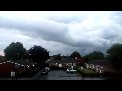 Spanish Plume Cloud 22-08-15 West Midlands