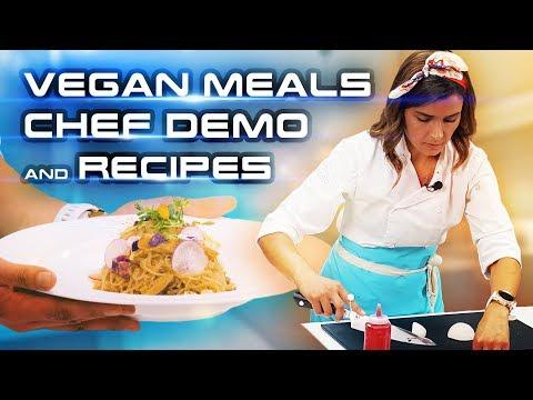 Vegan Meals For Restaurants | Chef Cooking Demo & Vegan Recipes