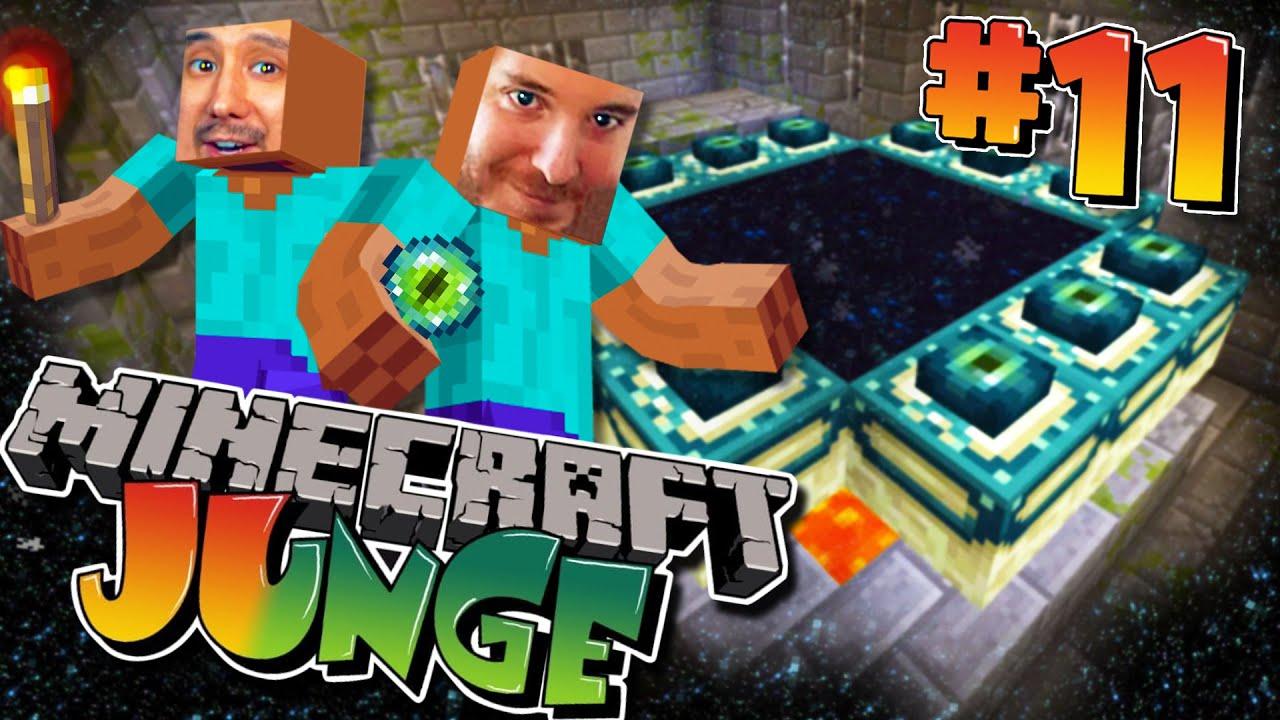 Download Wir finden das ENDERPORTAL! MINECRAFT mit @ungespielt  (Minecraft JUnge #11)