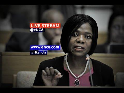 LIVE: Public Protector briefing on Nkandla