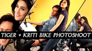 Tiger and Kriti's Sizzling Hot Photoshoot