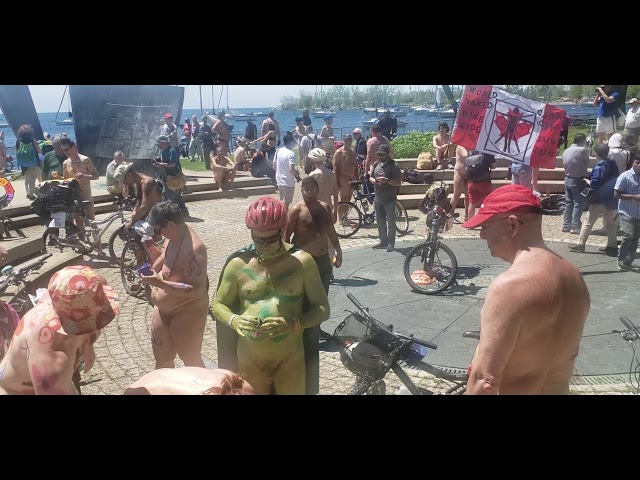 Naked Bike Ride Toronto 2019