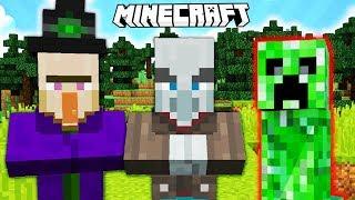 Minecraft Quiz : KTÓRY MOB NIE PASUJE DO RESZTY?
