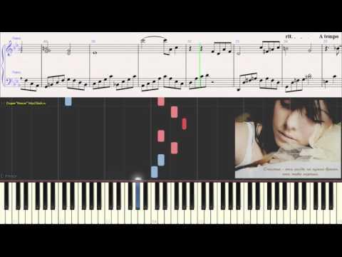 Ноты для фортепиано ваенга я болею тобой