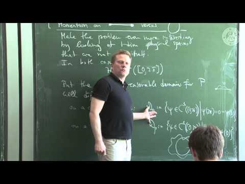 Case study: momentum operator - Lec09 - Frederic Schuller