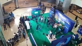 ICC World Cup trophy arrives in Dhaka Bangladesh at Jamuna future Park