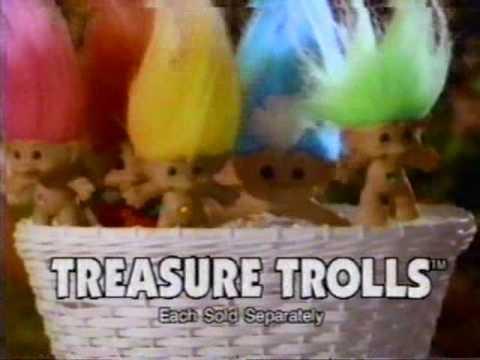 1992 ace treasure trolls commercial youtube