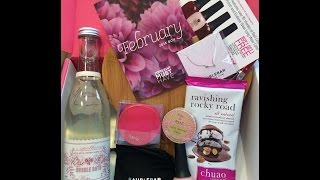 Popsugar Must Have February 2015 Unboxing