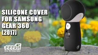 EEEKit Silicone Body Cover + Lens Cap for Samsung Gear 360 (2017) Review