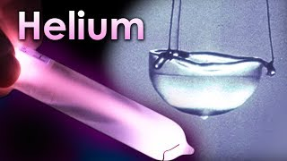 Helium - A SUPERFLUID Element, THAT CAN CLIMB WALLS!