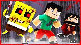 Minecraft SPONGEBOB.EXE - How to ESCAPE SpongeBob PRISON!
