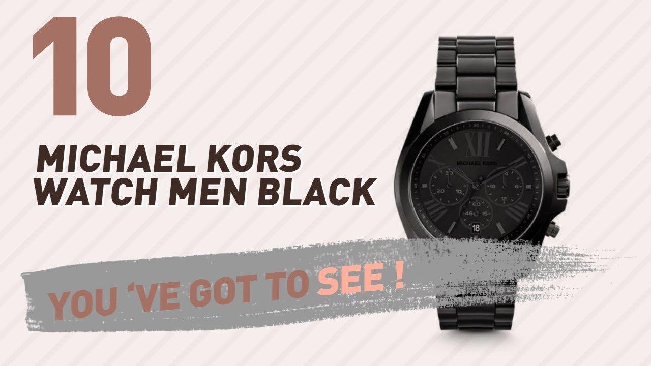 12f7068d843f Michael Kors Watch Men Black    New   Popular 2017 - YouTube