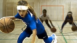 Check Out This Incredible 7 Year Old Girl Basketball Player