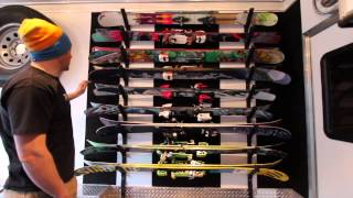 Diy Ski Rack By Adventurerig