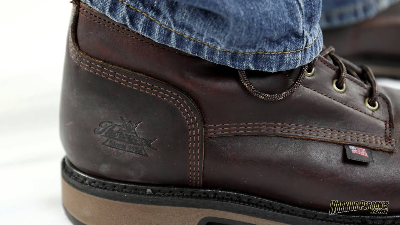 aaea73a28f3 Thorogood Boots: Men's 804-4203 American Heritage Safety Toe Boots