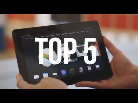 Top 5 Tablets (2015-2016)