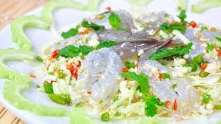 Thai Food - Shrimp In Fish Sauce (goong Shae Nam Pla)