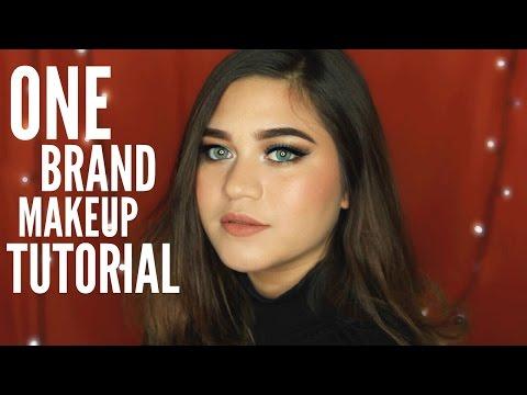 One Brand Makeup Tutorial + Review // Makeover | SarahAyu