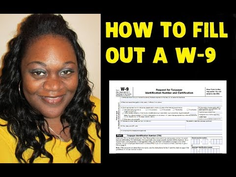 How to Fill Out a W-9 Form
