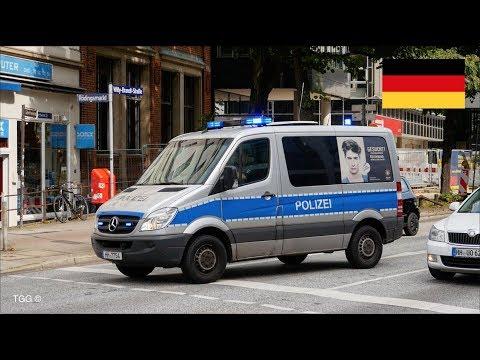 [Hamburg] Police Van Responding // Polizei Hamburg Einsatzfahrt (LeMkw)