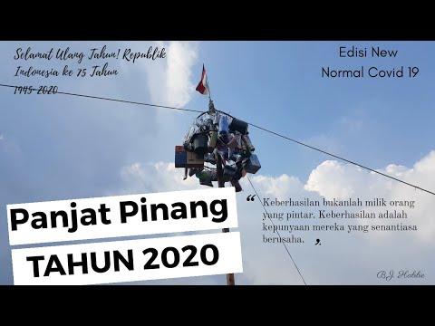 PANJAT PINANG HUT RI KE-75  TAHUN 2020