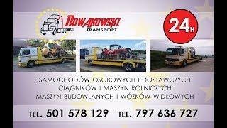 Transport maszyn rolniczych i nie tylko - Film promocyjny !!!