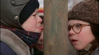How to Remove Your Tongue From a Frozen Pole Like in 'A Christmas Story'