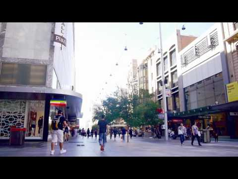 Timelapse Adelaide: Rundle Mall
