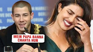 Nick Jonas REVEALS Baby Plans With Priyanka Chopra